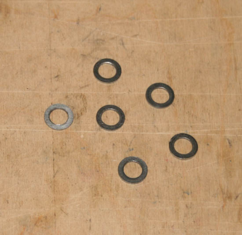 "Vertical Bevel Housings :5/16"" Reduced Head Washers"