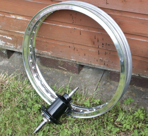 Alloy Rear Rim : 19 Inch WM2 Flanged