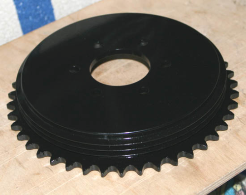 Rear Hub/Sprocket for Plunger Frame Models