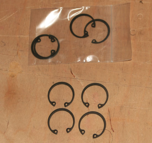 Pack of Four - Circlips for Piston Gudgeon Pin