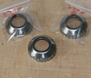 Norton 'Conical Type' Pressed Steel Wheel Bearing Dust Cover - Semi Polished
