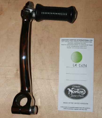 Norton International Folding Kick Starter Lever