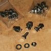 Reduced Head Racing Mudguard/Number Plate Bolts - Pack of 4