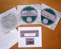 5. Facsimile - Historic Tax Discs