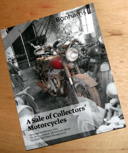 Bonhams Catalog - 18th February 2012: Bath and West Showground - Motorcycles Auction