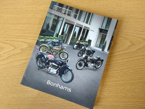 Bonhams Catalog - 26th April 2015: Staffordshire County Showground - Motorcycle Auction