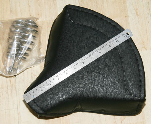 Terry Style Saddle - Competition/Trials Small Size - With Springs