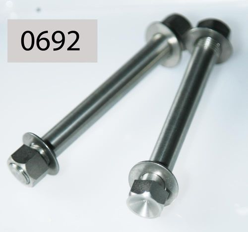 "SOHC 13293 (Wasted Head) M30/M40 7/16"" Engine Middle Front Bolt/Nut Set - Stainless Steel"
