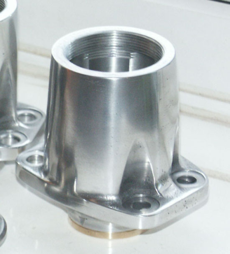 SOHC (Model 30/40 International) Bottom Aluminium Bevel Casting and Plain Bearing