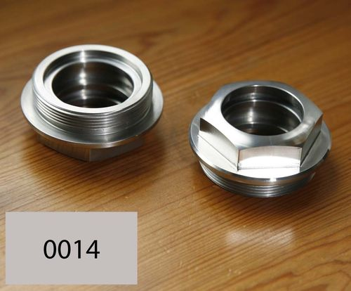 Vertical Shaft Top or Bottom Union Nut (Stainless Steel)