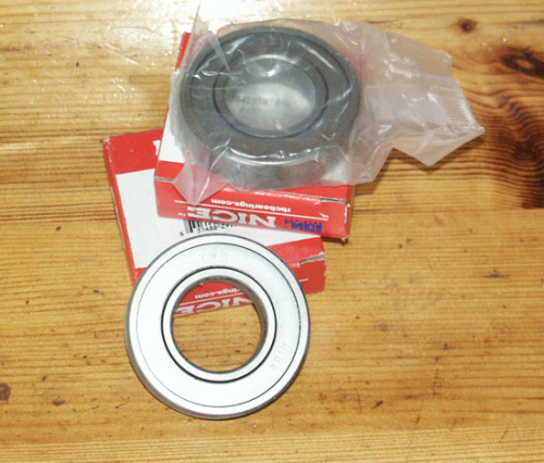 Gearbox Bearing - Mainshaft Main Bearing : All Models - SOHC/OHV/SV