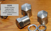 Norton Gearbox Endplate Nuts (Stainless Steel) - Pre-War Upright (and later Laydown) Gearbox