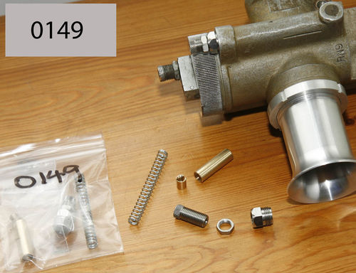 Air Adjuster Kit to fit original Amal TT, RN and GP Carbs - 6 Parts