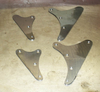 SOHC 500cc Model 30 International/CS1 Rear Engine Plates - Pair