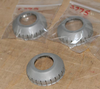 Norton 'Conical Type' Pressed Steel Wheel Bearing Dust Cover