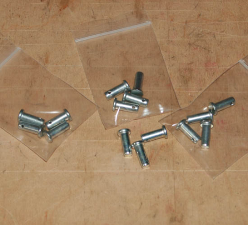 "Checkspring Clevis Pins (1/4"" by 5/8"") - set of 4"