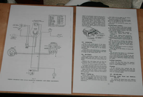 Laminated Electrical Diagram and Tips
