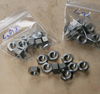 "3/8"""" BSC Full Nut - Stainless: Pack of 10"