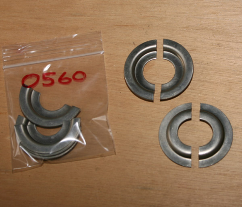 Girling Shock Absorber Spring Retaining Clips - Stainless Steel