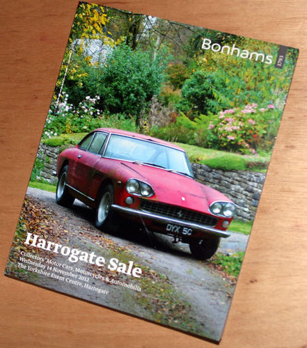 Bonhams Catalog - 14th November 2012: Harrogate Sale - Cars & Motorcycle Auction