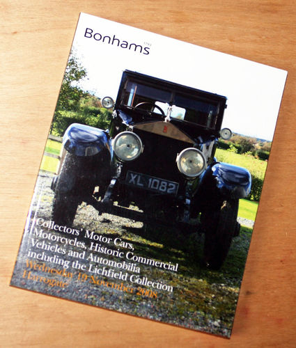 Bonhams Catalog - 19th November 2008: Harrogate - Cars, Motorcycle and Commercial Auction