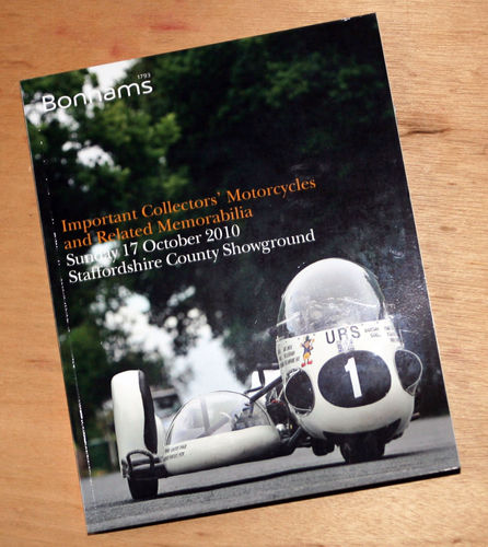 Bonhams Catalog - 17th October 2010: Staffordshire Motorcycle Auction