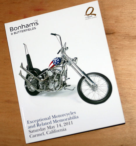 Bonhams Catalog - 14th May 2011: Carmel California Exceptional Motorcycles Auction