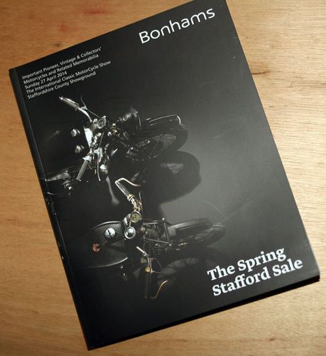 Bonhams Catalog - 27th October 2014: Staffordshire Motorcycle Auction