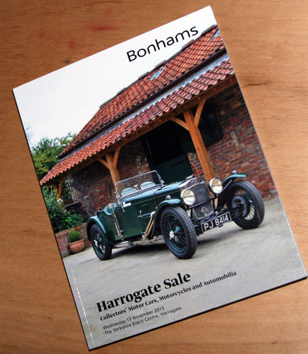 Bonhams Catalog - 13th November 2013: Harrogate Sale - Cars & Motorcycle Auction