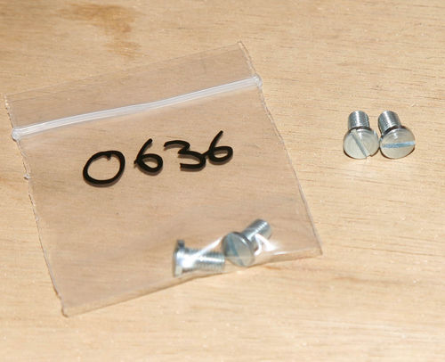 Rev Clock/Speedo (Chronometric) Back Screws (Pair)