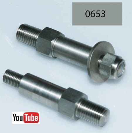 SOHC International Model 30/40: Brake Pedal Pivot Bolt and Nut