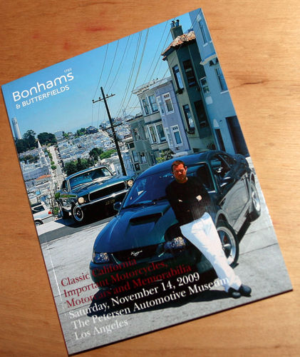 Bonhams Catalog - 14th November 2009: California Classic - Cars & Motorcycle Auction