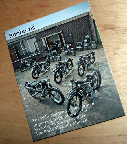 Bonhams Catalog - 28th November 2009: BMW Museum - The Willy Neutkins Collection