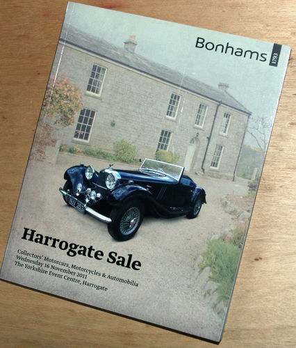 Bonhams Catalog - 16th November 2011: Yorkshire Event Centre - Cars & Motorcycle Auction