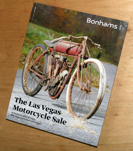 Bonhams Catalog - 12th January 2012: Imperial Palace Las Vegas - Motorcycle Auction