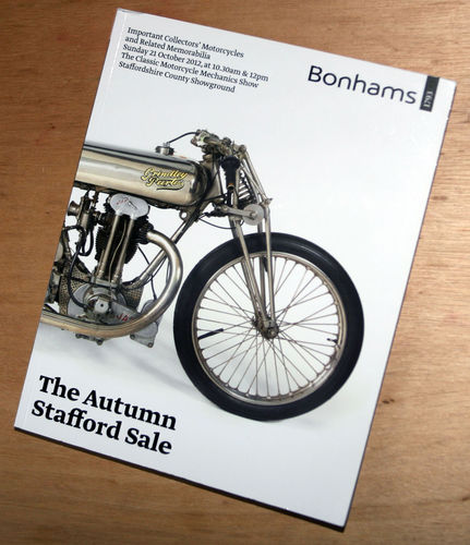 Bonhams Catalog - 21st October 2012: Staffordshire County Showground - Motorcycles Auction