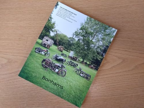 Bonhams Catalog - 18th October 2015: Staffordshire County Showground - Motorcycle Auction