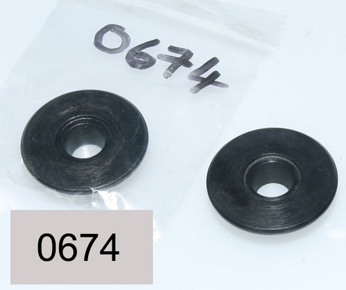 OHV - ES2 / Mod18 / Mod 19  Valve Coil Spring Top Cup (Post 48 Flat Head Version) - Each