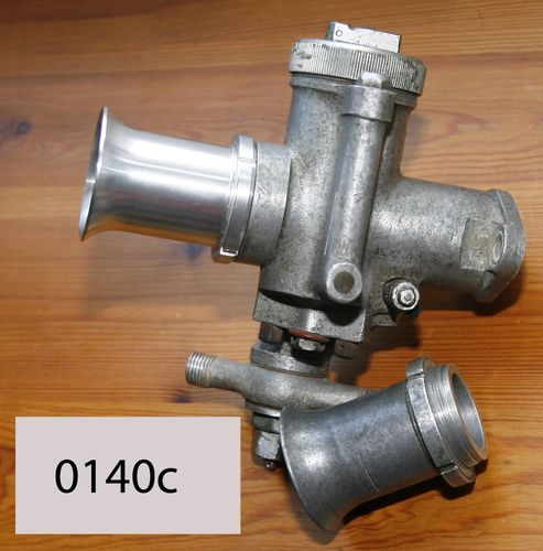10TT/RN/GP BellMouth - Long Length: To fit Amal 10TT, RN and GP Carburettors