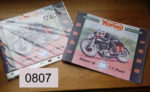 Norton 1953 Sales Catalog - Colour Facsimile