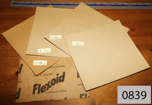 Flexoid Oil Resistant Gasket Material: Small Size Kit