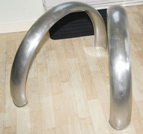 "Vincent/Norton 30M 19/20"""" Alloy Racing Rear Mudguard"