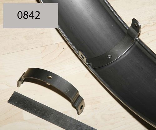 "Racing Rear 19/20"" Mudguard - Steel Middle Bracket (Each)"