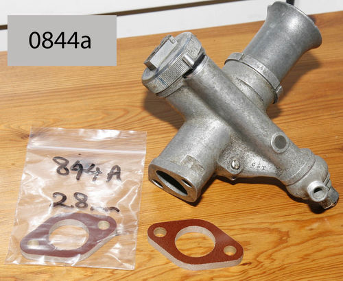 Tufnol Flange to Fit Amal TT/RN/Monobloc/Concnetric Carbs - 28mm Bore (i.e 350cc)