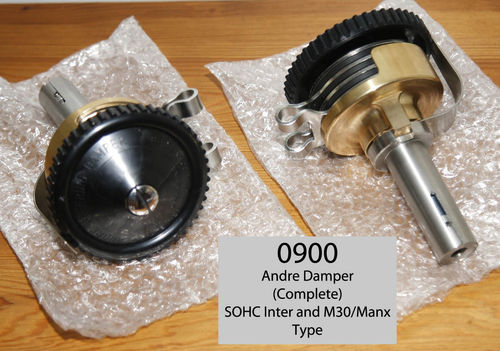 Andre Damper Complete - To fit Norton International, M30/M40 and pre-Featherbed Manx Models