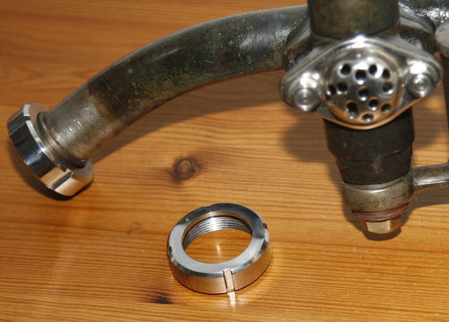 Douglas 2 3/4hp (and EW) - Stainless Steel Inlet Manifold and Exhaust Nuts (Enquiry Only)